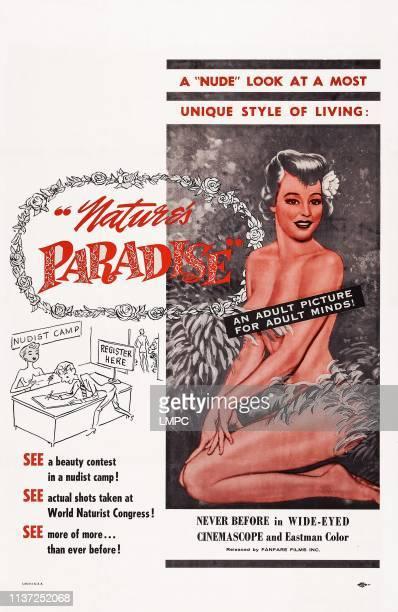 Nudist Paradise poster US poster art 1959
