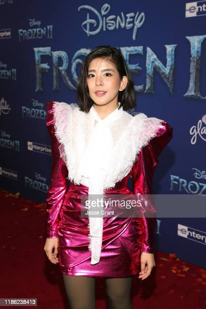Nuengthida Sophon attends the world premiere of Disney's Frozen 2 at Hollywood's Dolby Theatre on Thursday November 7 2019 in Hollywood California