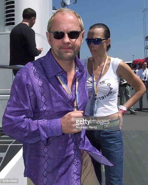 Nuerburgring; Schauspieler Uwe OCHSENKNECHT und Ehefrau Natascha