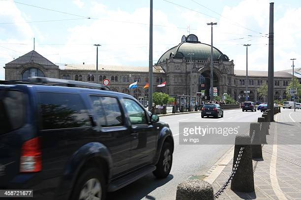 nuernberg central station - nuremberg stock photos and pictures