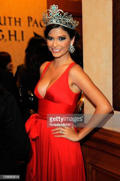Nuestra Belleza Latina Season 4 winner Ana Patricia Gonzalez attends the 11th Annual Latin GRAMMY Awards after party held at the Mandalay Bay South...