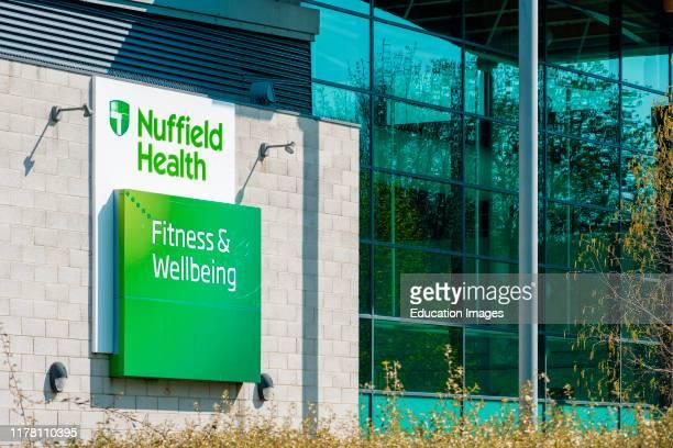 Nuffield Health Fitness Wellbeing center near the Riverside Walk in Norwich Norfolk England United Kingdom