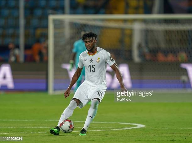 Nuhu Adams Kasim of Ghana during the 2019 African Cup of Nations match between Benin and Guinea-Bissau at the Ismailia stadium in Ismailia, Egypt on...