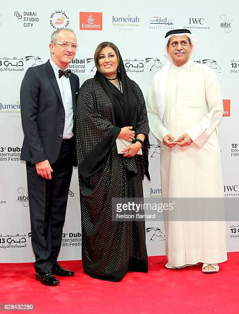 Nujoom Alghanem attends the Opening Night Gala during day one of the 13th annual Dubai International Film Festival held at the Madinat Jumeriah...