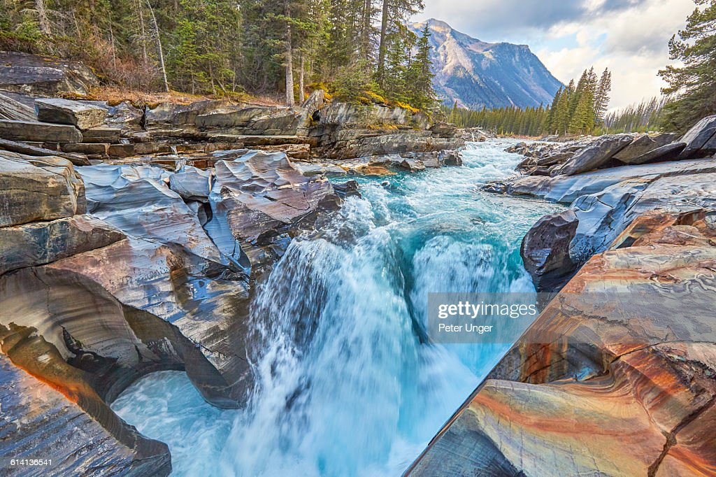 Numa falls kootenay national park canada stock photo getty images numa falls kootenay national park canada stock photo sciox Image collections