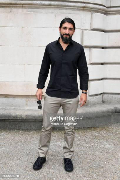 Numan Acar attends the Dior Homme Menswear Spring/Summer 2018 show as part of Paris Fashion Week on June 24 2017 in Paris France