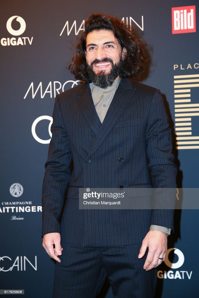 Numan Acar attends the PLACE TO B Pre-Berlinale-Dinner Photo Call at Provocateur on February 13, 2018 in Berlin, Germany.