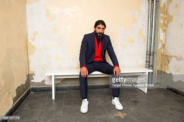 Numan Acar attends the premiere for the AXN series 'Kingdom' on September 23 2015 in Berlin Germany