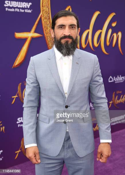 Numan Acar attends the World Premiere of Disney's Aladdin at the El Capitan Theater in Hollywood CA on May 21 in the culmination of the film's Magic...