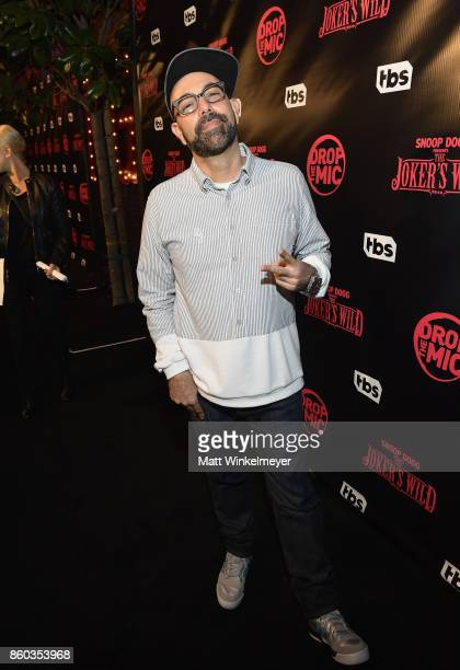 NuMark at TBS' Drop the Mic and The Joker's Wild Premiere Party at Dream Hotel on October 11 2017 in Hollywood California Shoot ID 26854_010