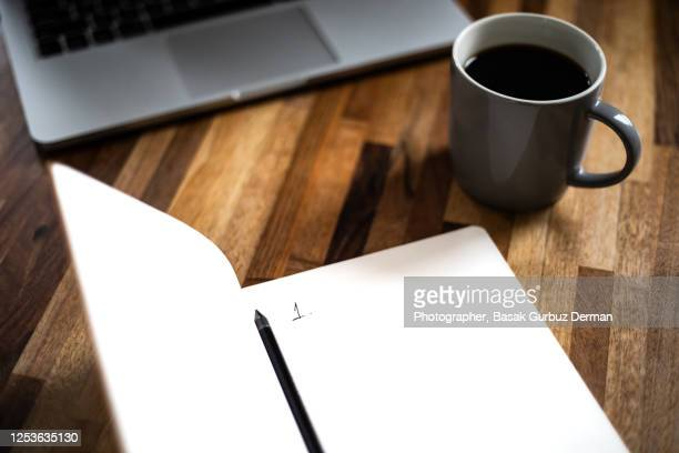 number 1 written on a notebook, starting a new list - list stock pictures, royalty-free photos & images