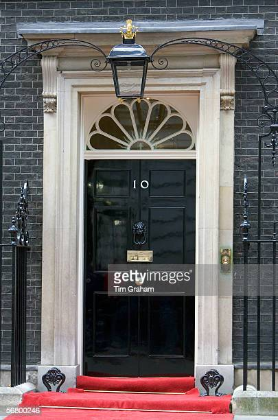 Number 10 Downing Street the home of the British Prime Minister London United Kingdom