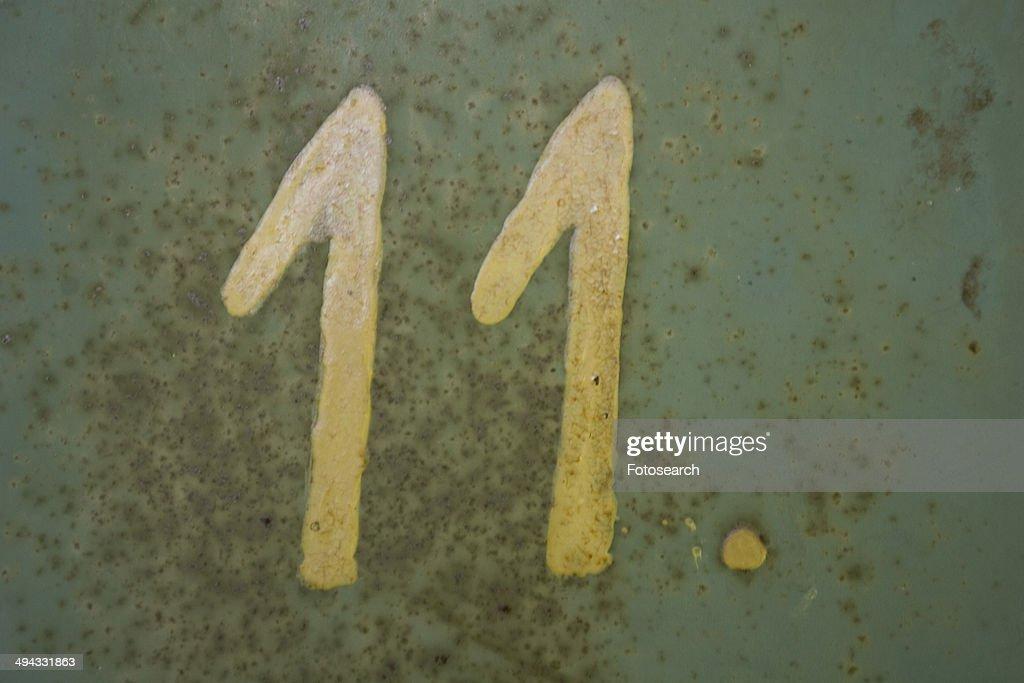 Number 11 : Stock Photo