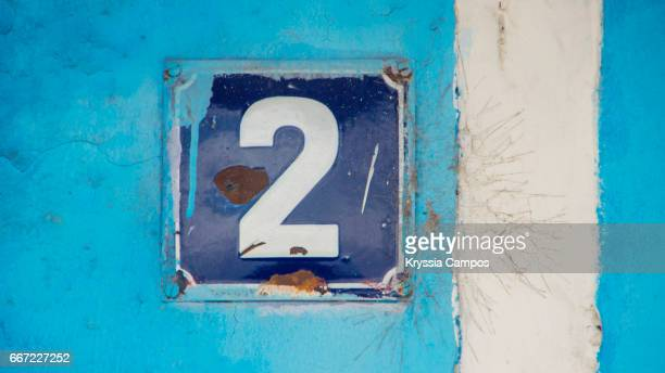 number 2 at streets of antigua, guatemala - number 2 stock pictures, royalty-free photos & images