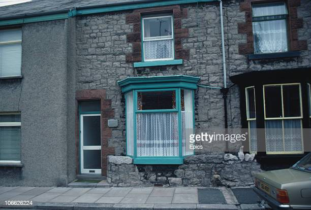 Number 3 Argyle Street, Ulverston, Cumbria, the birthplace of English comedian Stan Laurel , July 1984.