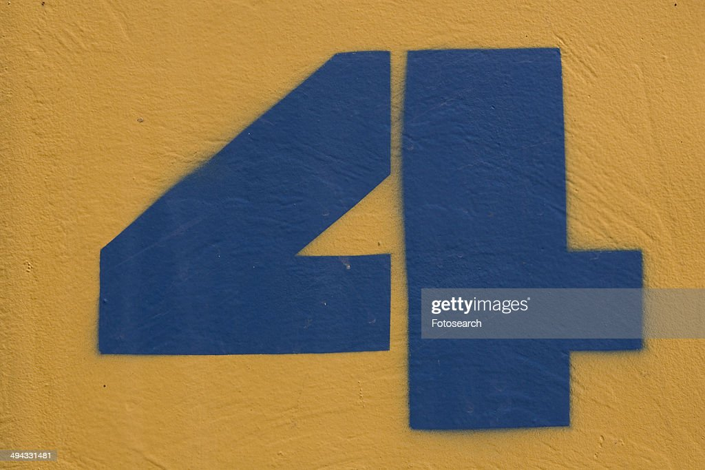 Number 4 : Stock Photo