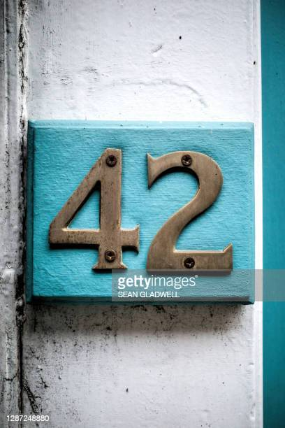 number 42 - embellishment stock pictures, royalty-free photos & images