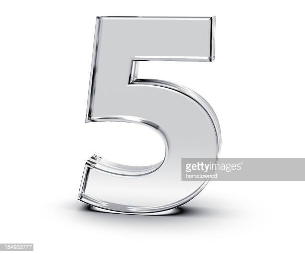 number 5 - three dimensional stock pictures, royalty-free photos & images