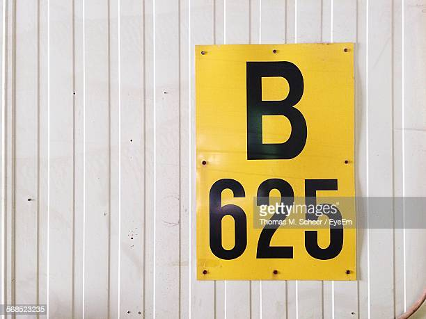 Number 625 On Container