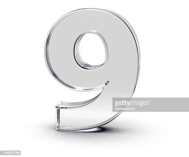 数字の 9 - 16:9 ストックフォトと画像