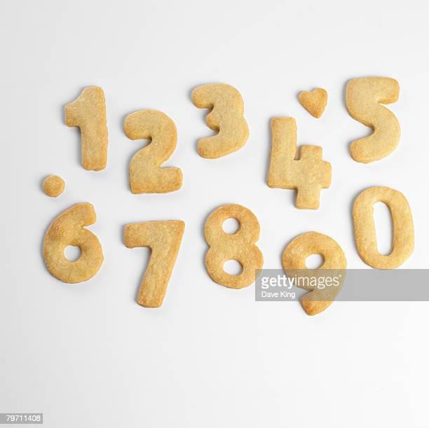 Number cookies