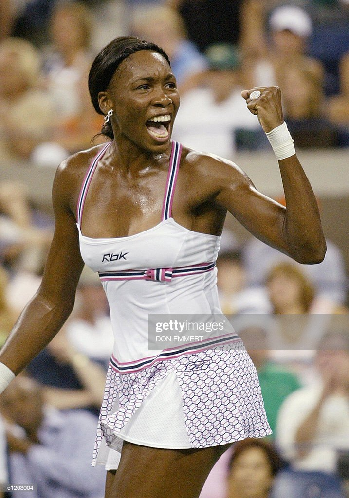 Number eleven seeded Venus Williams of t : News Photo