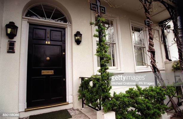 Number Forty Eight Cheyne walk in London's Chelsea. This house was owned by Mick Jagger of the band the Rolling Stones in the late 1960's, he was...