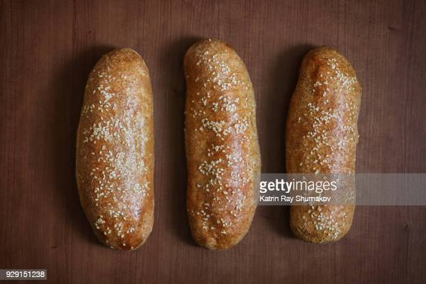 (3) Number III - Roman Numerals Out Of Bread