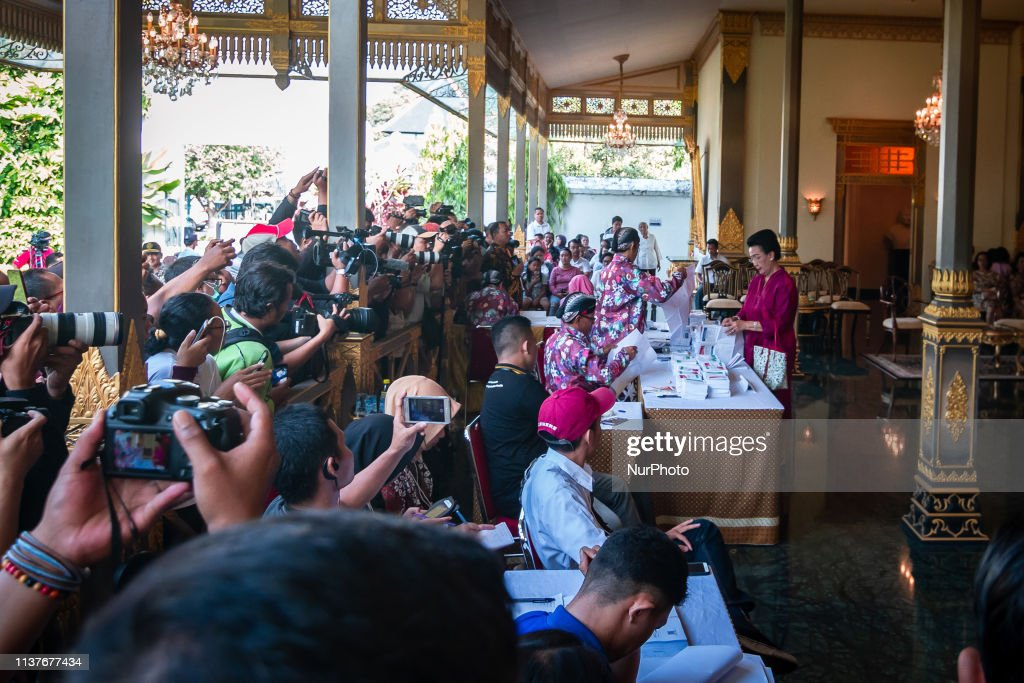 Indonesian General Election In Yogyakarta : News Photo
