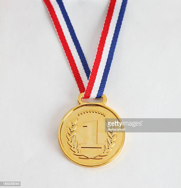 number one - gold medal stock pictures, royalty-free photos & images