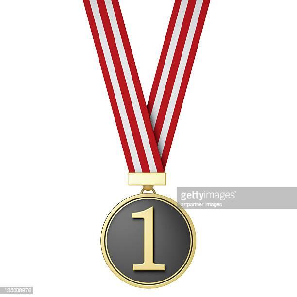 number one - the winner - gold medal - medalla de plata fotografías e imágenes de stock