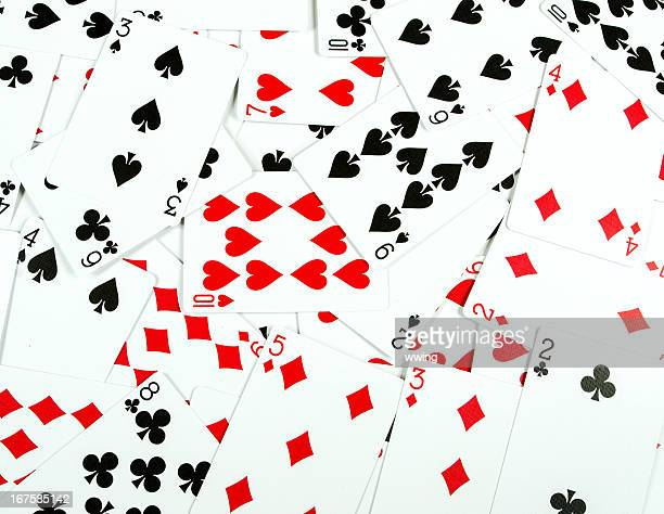 Number Only Playing Card Background