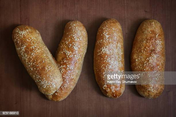 (7) Number VII - Roman Numerals Out Of Bread