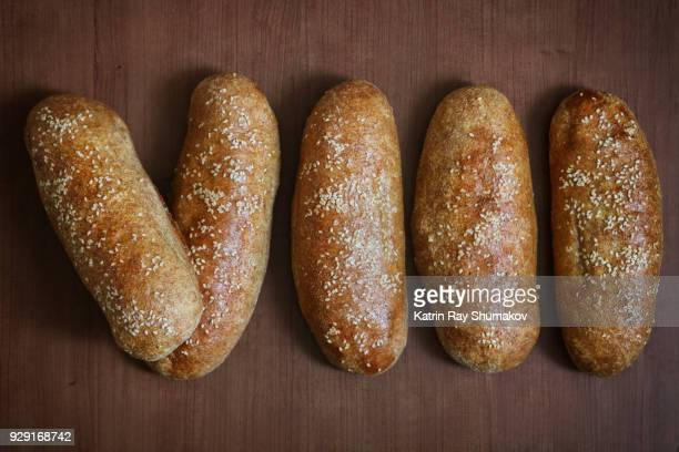 (8) Number VIII - Roman Numerals Out Of Bread