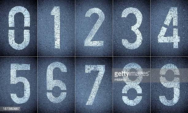 Numbers 0-9