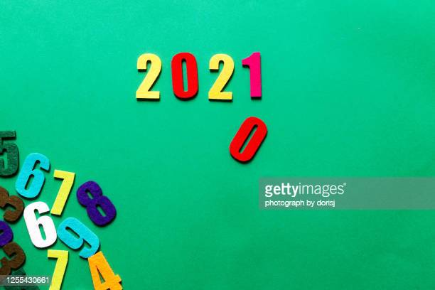 2021 numbers - new year's eve - numbers - number stock pictures, royalty-free photos & images