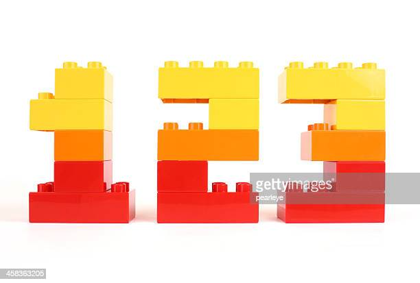 numbers - lego stock pictures, royalty-free photos & images
