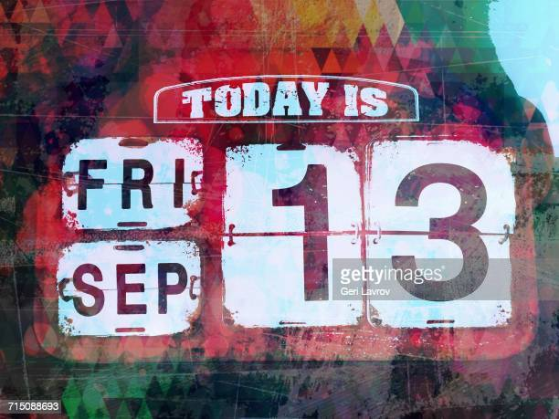 numbers - day of the week stock pictures, royalty-free photos & images