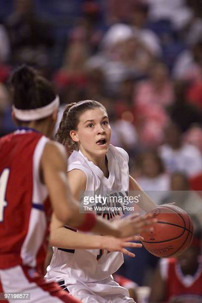 woodwardt 121841 Girls State ChampionshipVirginia AAA at Lynchburg VA West Springfield vs Princess Anne of Virginia Beach This is Spartan Laura...
