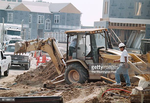 woodwardt 129347 Photos of housing construction in Loudoun to go with the region story about Freddie Mac studying housing needs in county's...