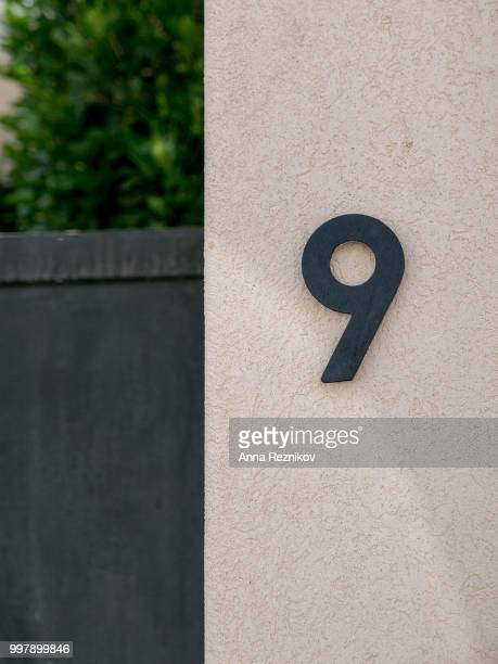 Numeral 9
