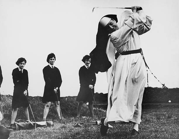 Golfing Nun