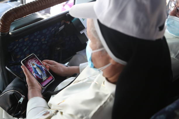 IRQ: Pope Francis Makes Historic Visit To Iraq