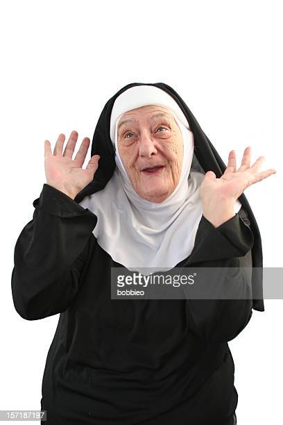 nun series - silly me - nun stock pictures, royalty-free photos & images