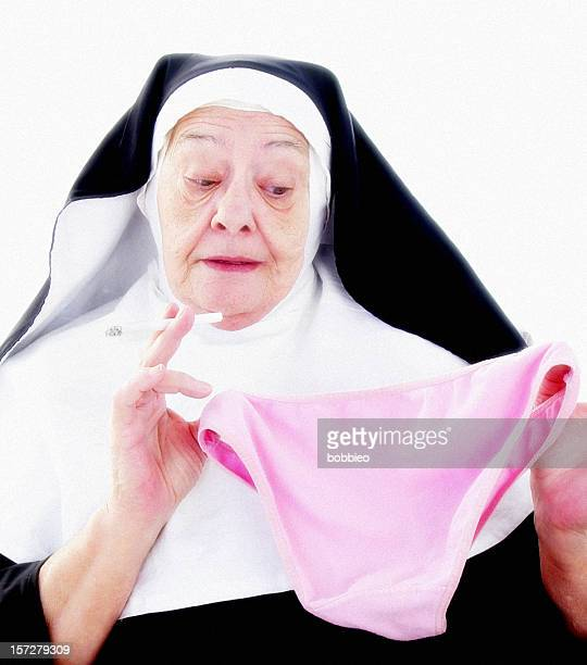 nun series - too many temptations - nun stock photos and pictures