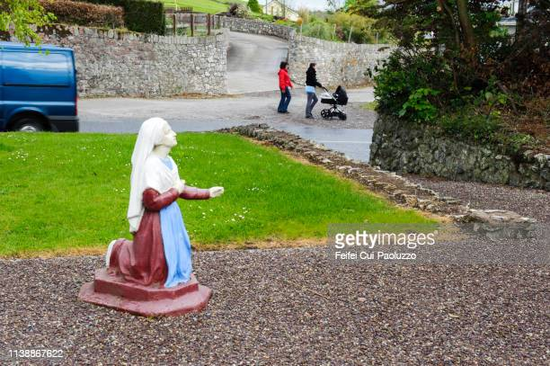 Nun statue at Ballinacurra, County Cork, Ireland
