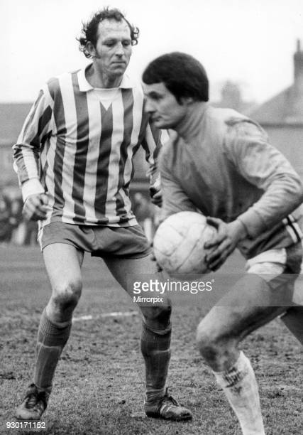 Nuneaton Borough v Yeovil Town 21st February 1976 Borough striker Tony Jacques
