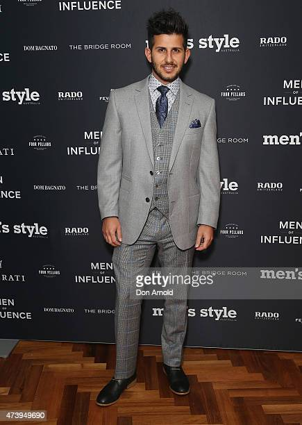 Nunez Bagnato arrives at the Men of Influence Dinner at The Bridge Room on May 19, 2015 in Sydney, Australia.