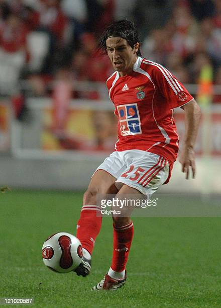 Nuno Assis during a game between Benfica and Beira Mar in the ninth round of the Portuguese League at Estadio da Luz in Lisbon, Portugal on November...