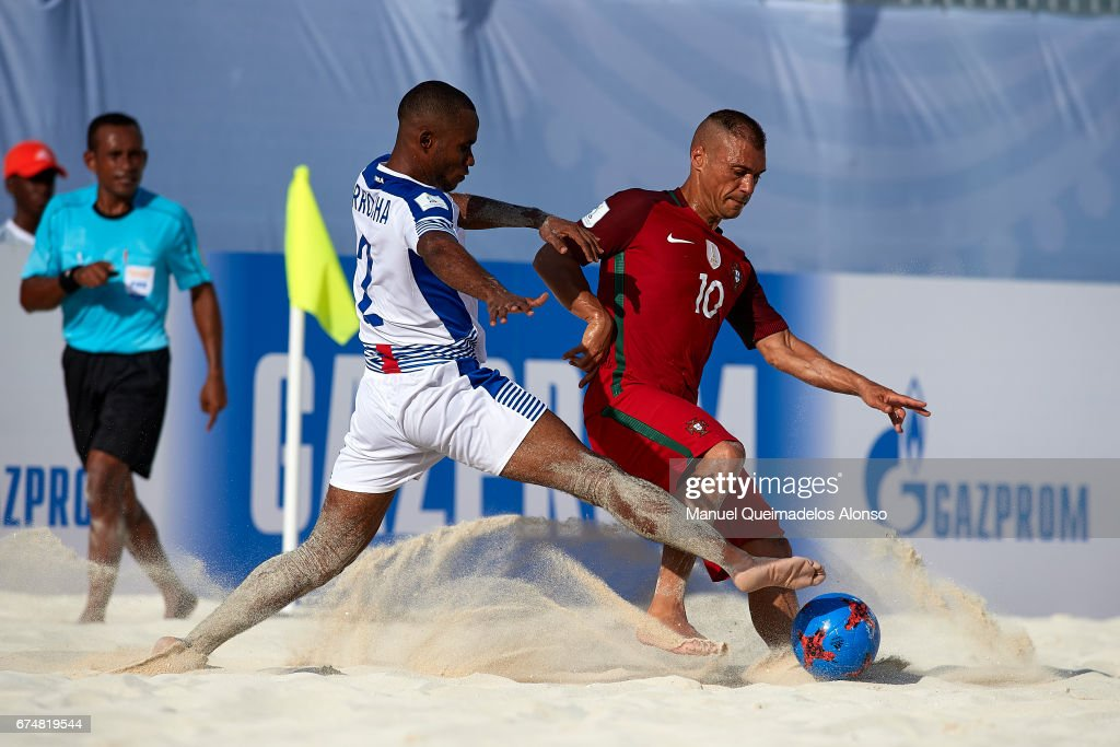 Portugal v Panama - FIFA Beach Soccer World Cup Bahamas 2017 : ニュース写真